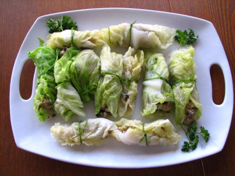 Cabbage Rolls with Quionia